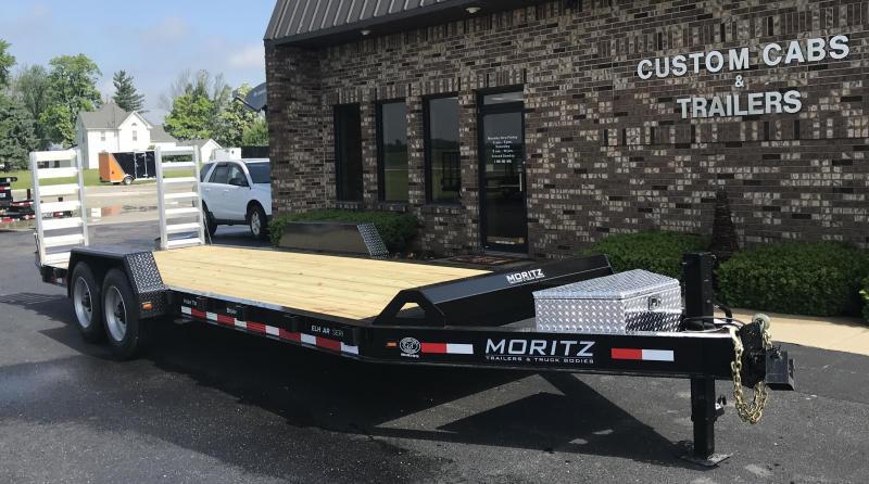 2020 Moritz International 22' UT 8K  AR Flatbed Trailer