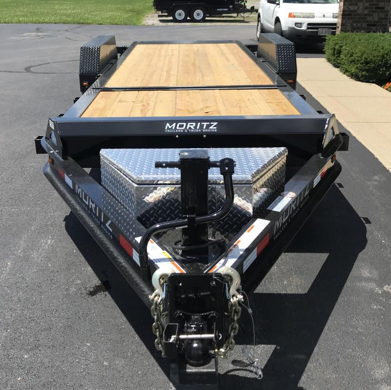 2020 Moritz International 16' + 6'  8K Flatbed Trailer