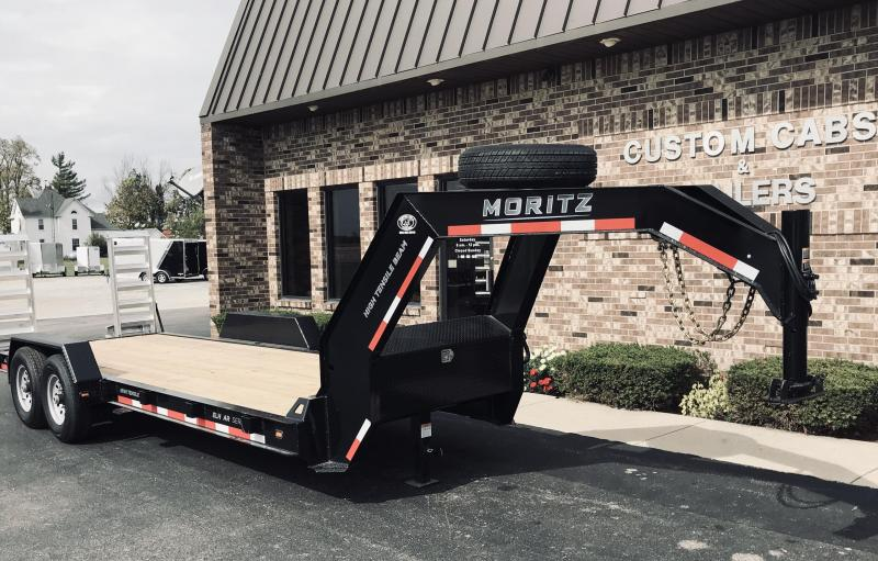 2020 Moritz International 20' UT GN  AR Flatbed Trailer