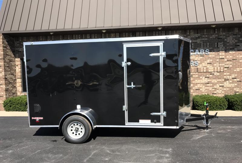 2020 Cargo Mate 6' x 12'  Enclosed Cargo Trailer