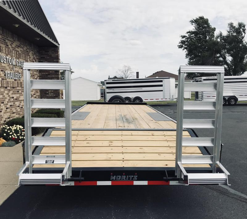 2020 Moritz International 20' + 4' 8K  AR Flatbed Trailer