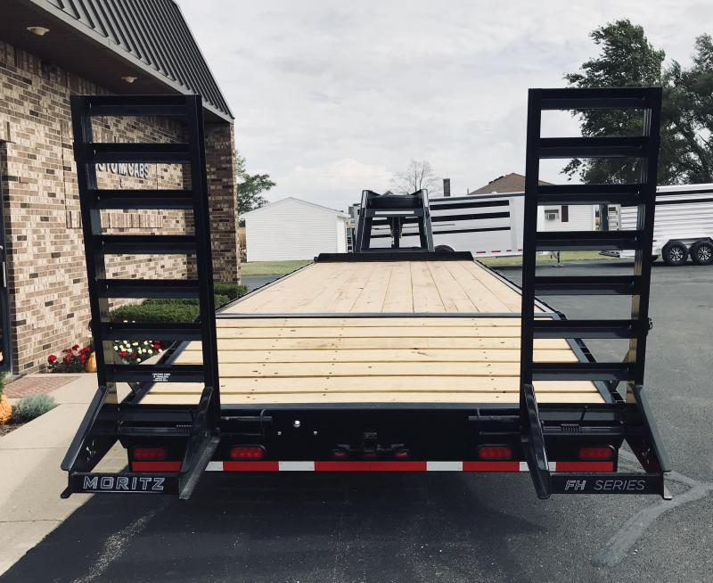 2020 Moritz International 20' + 5' 10K  Flatbed Trailer