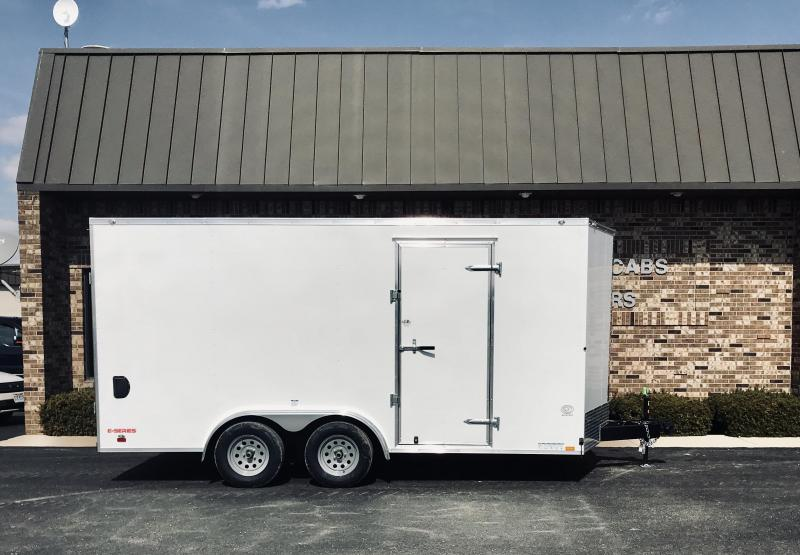 2020 Cargo Mate 8' x 16'  Enclosed Cargo Trailer