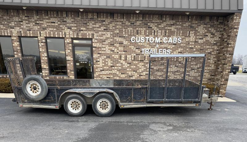 2006 Moritz International 18' UT Flatbed Trailer