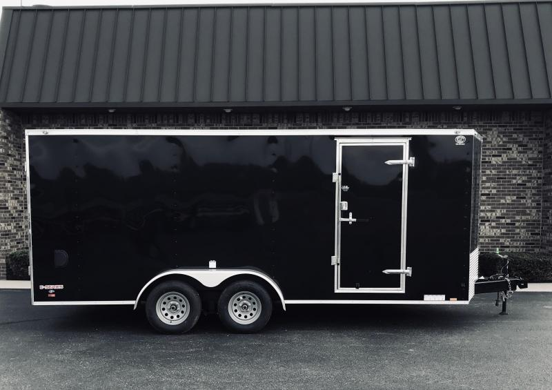 2020 Cargo Mate 7' x 18'  Enclosed Cargo Trailer