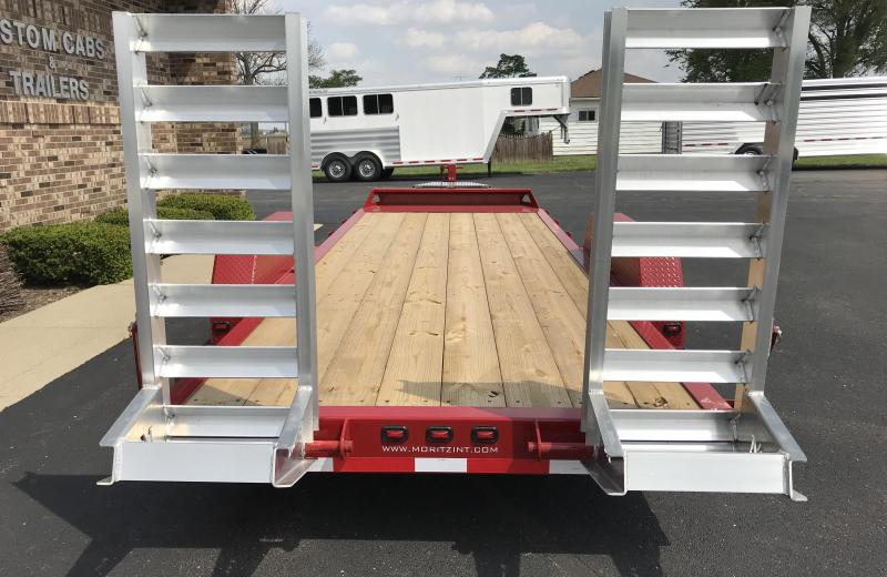 2020 Moritz International 20' UT 7K AR Flatbed Trailer