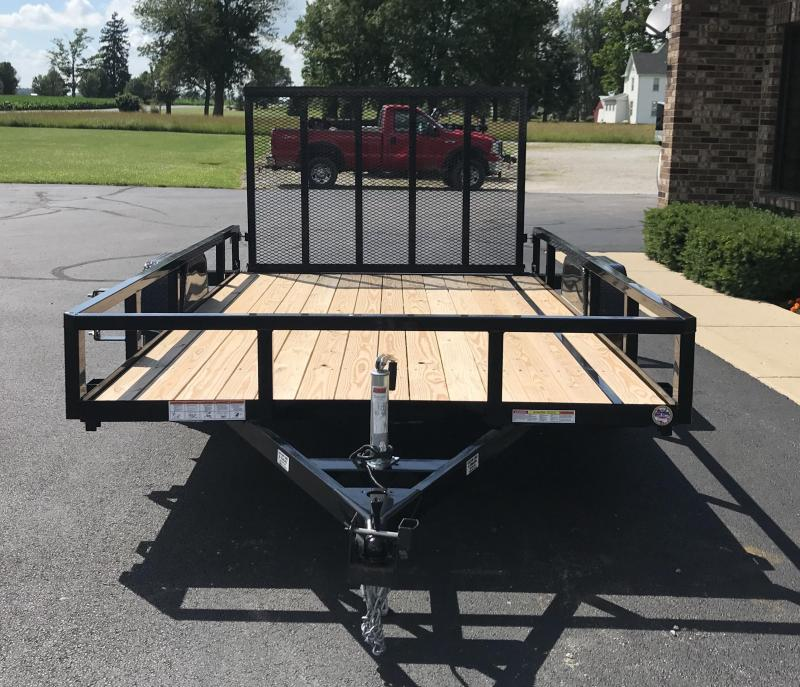 2020 Sure-Trac 7' x 12'  Flatbed Trailer