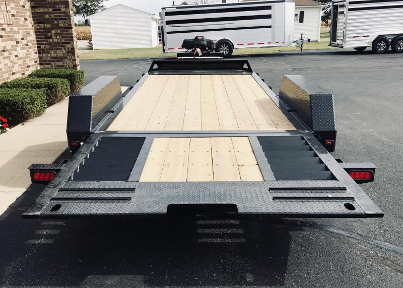 2020 Moritz International 14' + 6' 7K  HT Flatbed Trailer