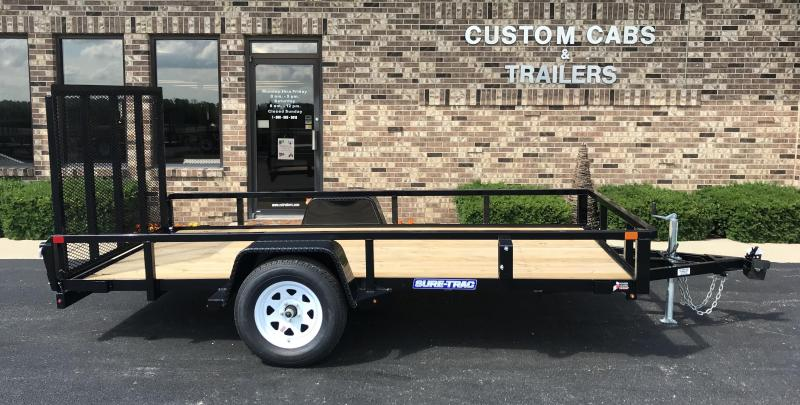 2019 Sure-Trac 6' x 12'  Flatbed Trailer