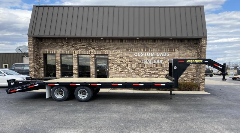 2020 Golden 20' + 5'  10K Flatbed trailer
