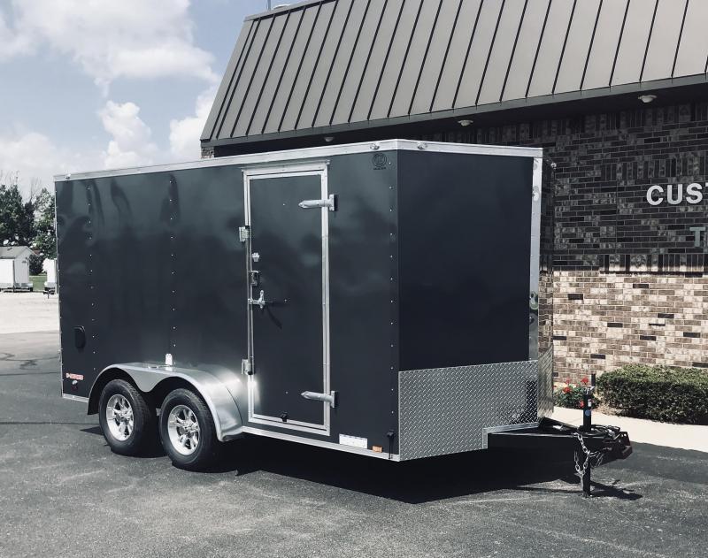2020 Cargo Mate 7' x 14'  Enclosed Cargo Trailer