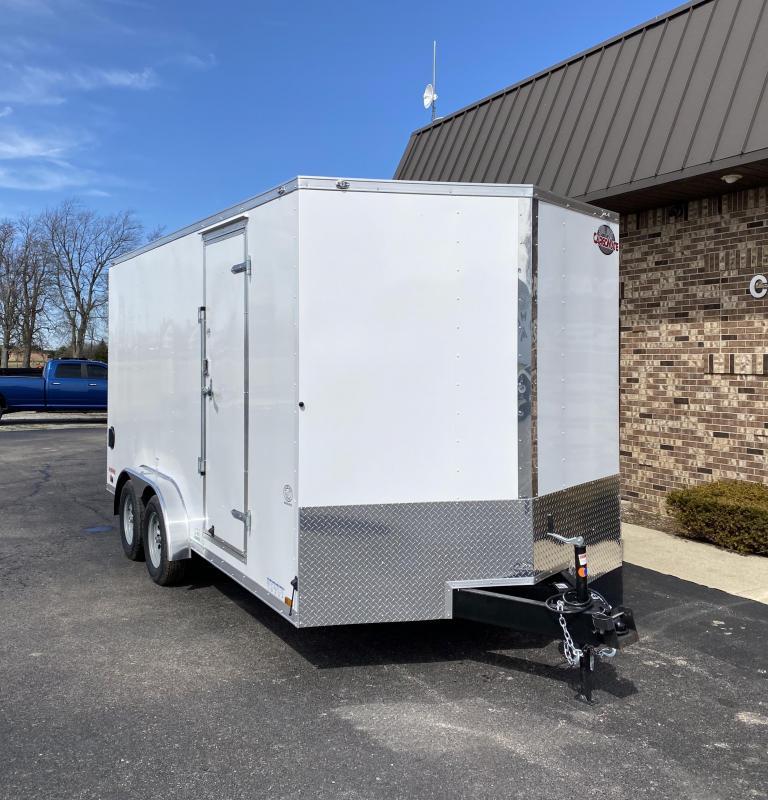 2021 Cargo Mate 7.5' x 16'  Enclosed Cargo Trailer