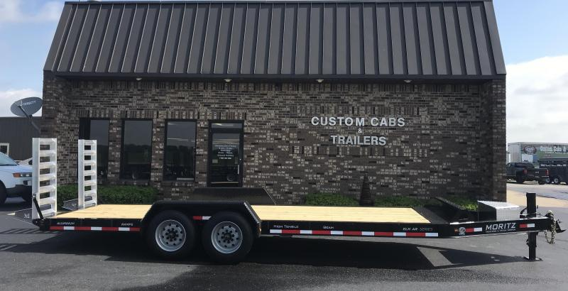 2020 Moritz International 22' UT 8K Flatbed Trailer