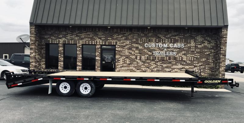 2020 Golden 20' + 5' 7K Flatbed Trailer