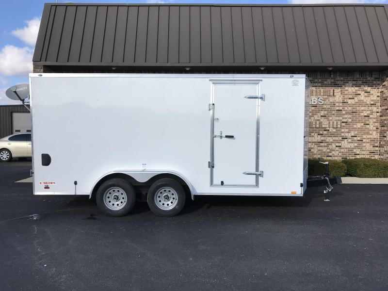 2020 Cargo Mate 7' x 16'  Enclosed Cargo Trailer