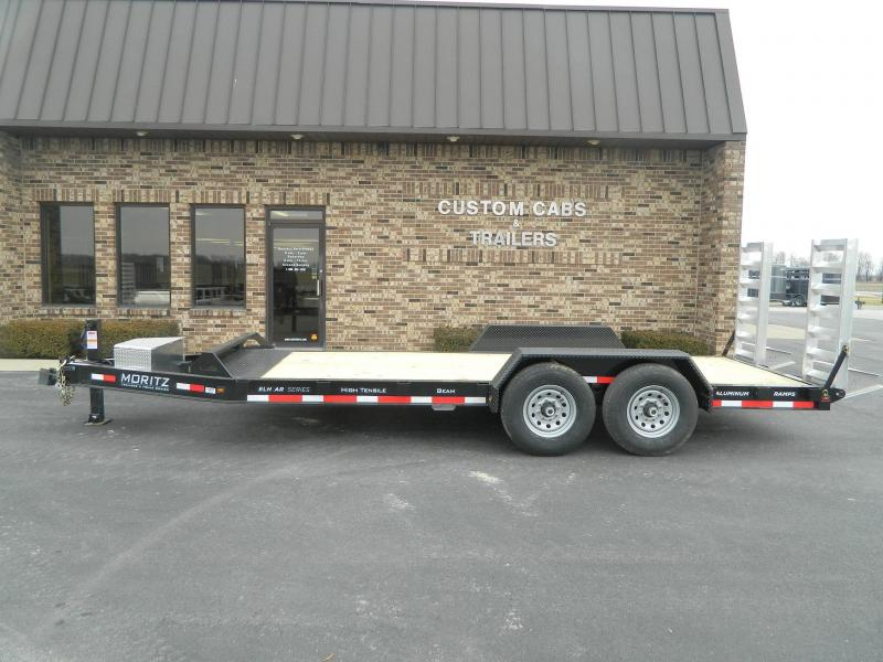 2020 Moritz International 18' UT 7K Flatbed Trailer