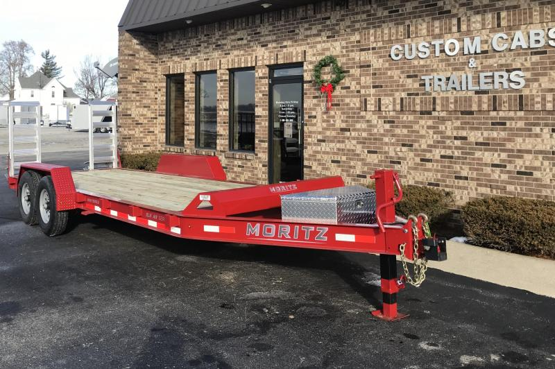 2020 Moritz International 20' UT 7K Flatbed Trailer
