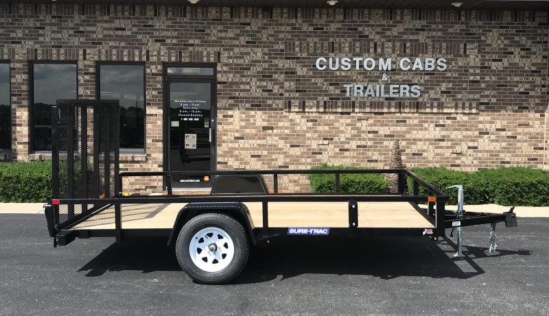 2020 Sure-Trac 7' X 12' Tube Top Flatbed