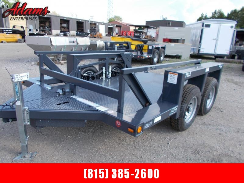 2020 JLG 7612 Flatbed Lift  Equipment Trailer