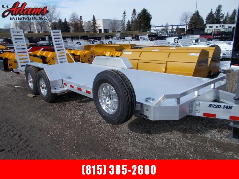 2021 Aluma 8220-14K Equipment Trailer