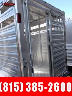 2020 Featherlite FL8107-16 Livestock Trailer