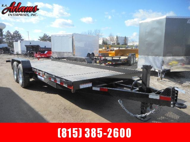 2016 Sure-Trac ST81164ATE-B-140 Equipment Trailer