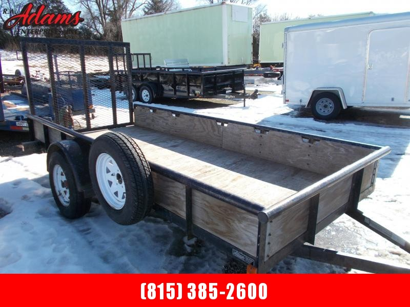 2008 Big Tex Trailers 30SA-12 Utility Trailer
