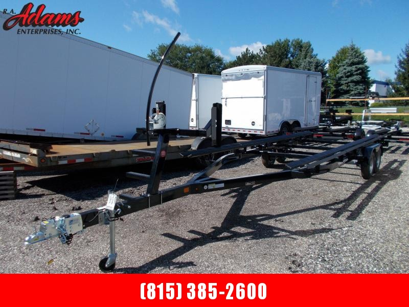 2020 Yacht Club PB2444T Pontoon Boat Trailer