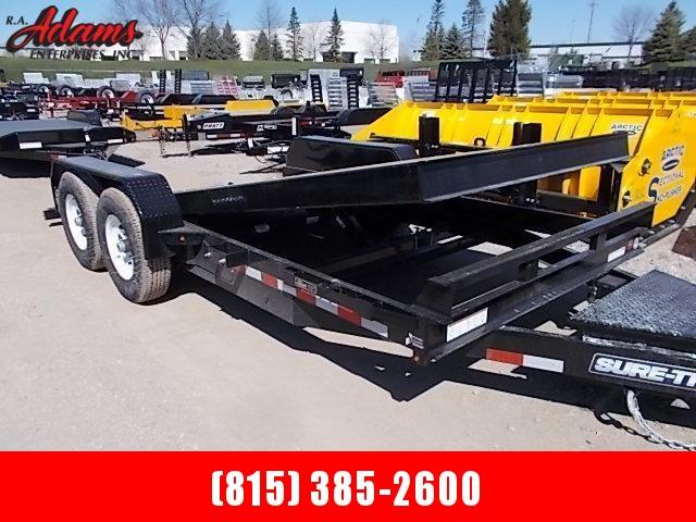 2018 Sure-Trac ST8218FWTE-B-140 Equipment Trailer