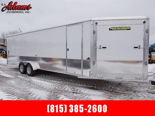 2019 Aluma AE724TAV Snowmobile Trailer