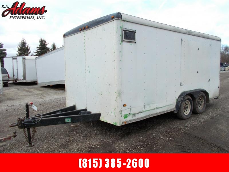 1996 Wells Cargo AS162 Cargo / Utility Trailer