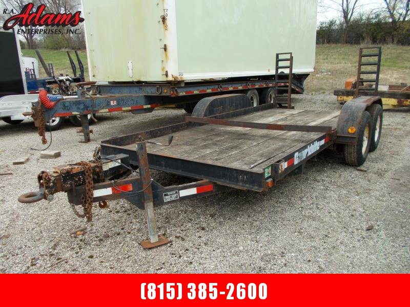 1996 Cronkhite MISCFLATBED Equipment Trailer