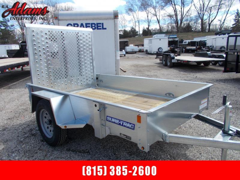 2018 Sure-Trac ST6008-GAL Utility Trailer