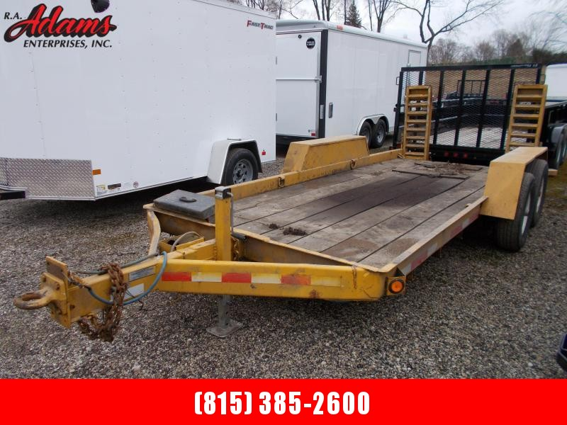 2002 RediHaul FSL12+4E-102 Equipment Trailer