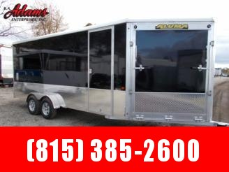 2020 Aluma AE718TAVSP Snowmobile Trailer
