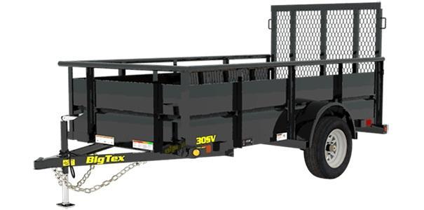 2020 Big Tex 30SV-10 Utility Trailer