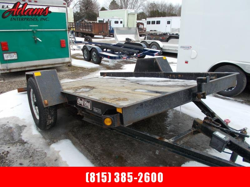 2016 Redi Haul ML7470E Equipment Trailer