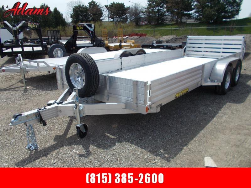 2020 Aluma 8122TASR Utility Trailer
