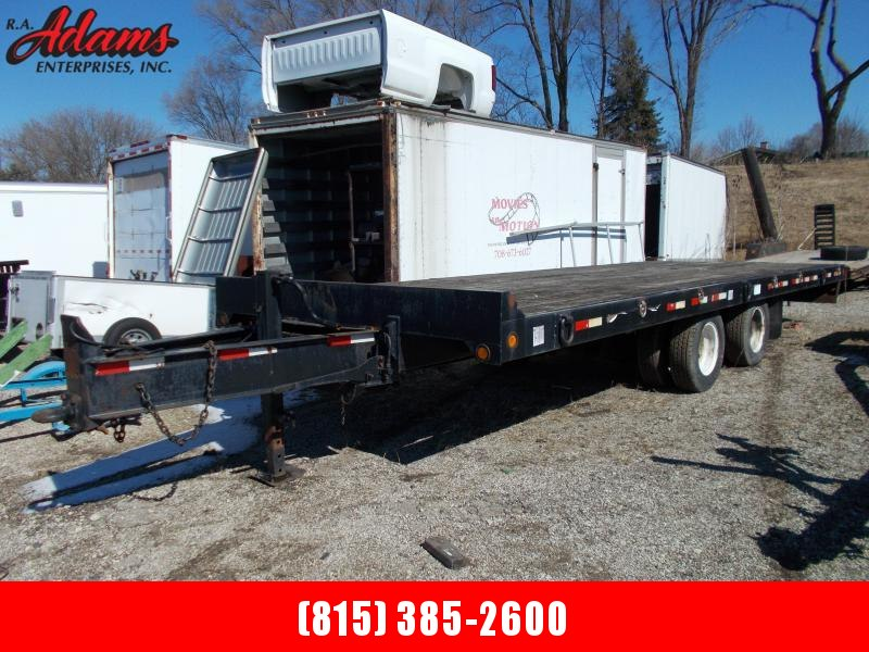 2000 Towmaster MISCFLATBED Equipment Trailer