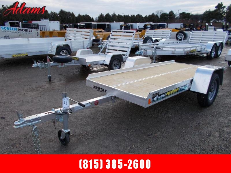 2020 Aluma 8605 Snowmobile Trailer