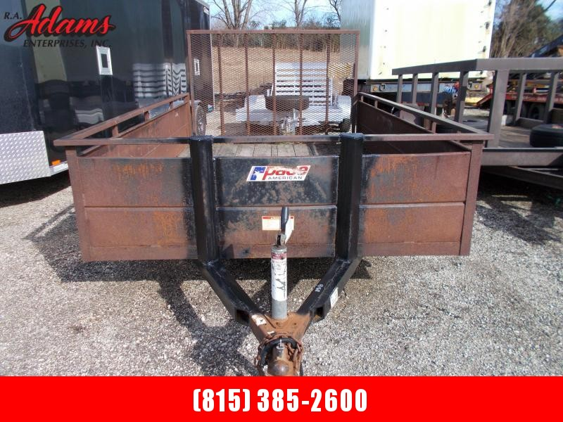 2007 Pace American MISCUTILITY Utility Trailer