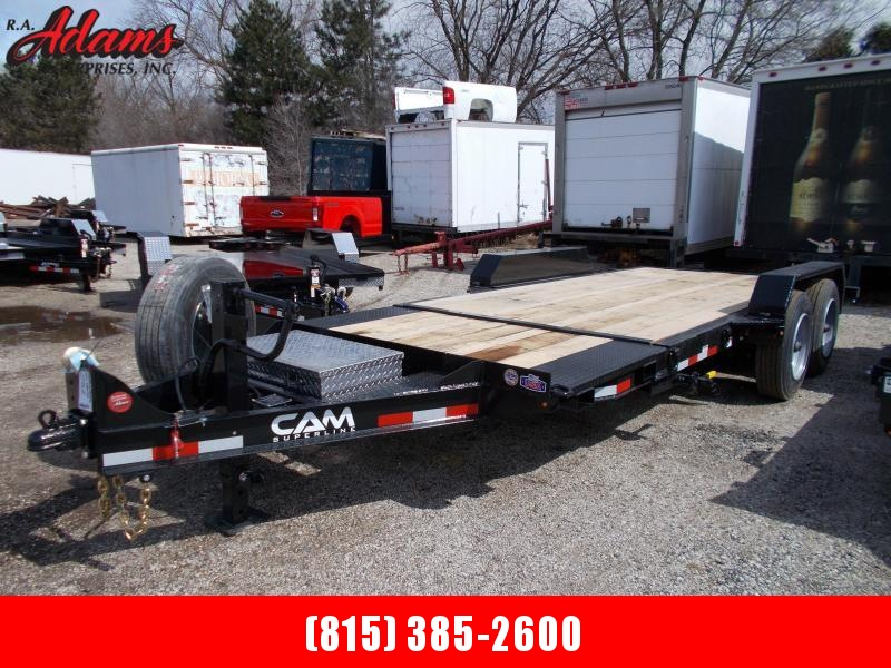 2020 Cam Superline 8CAM164STTXW Equipment Trailer