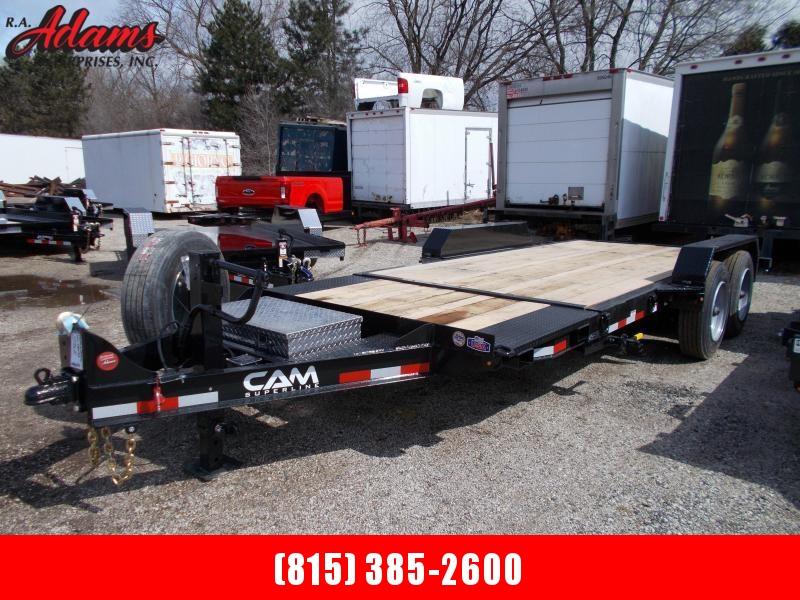 2020 Cam Superline 8CAM164STTXW Equipment Trailer