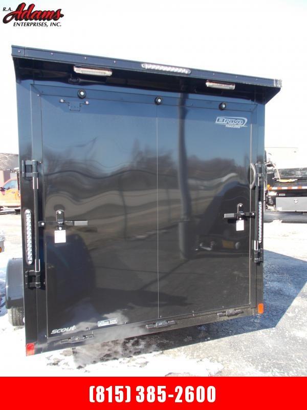 2020 Bravo SC712SA Cargo / Utility Trailer