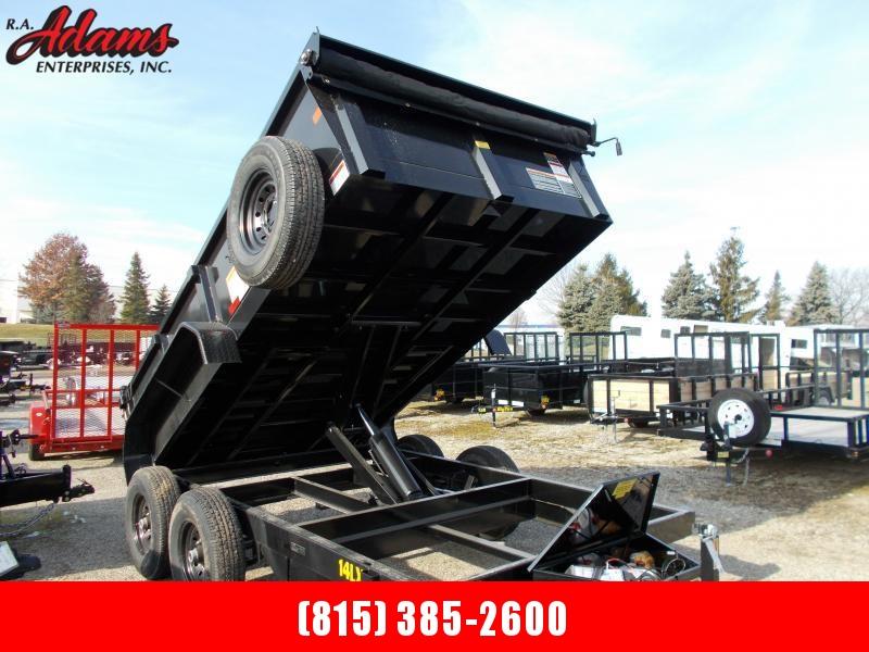 2020 Big Tex 14LX-12 Dump Trailer