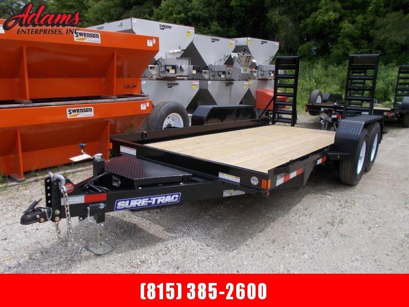 2019 Sure-Trac ST8014AE-B-140 Equipment Trailer