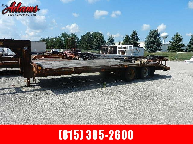 1988 RH Elite Equipment Trailer