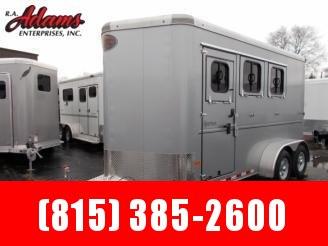 2019 Sundowner Sportman 3 Horse BP Bumper Pull Trailer
