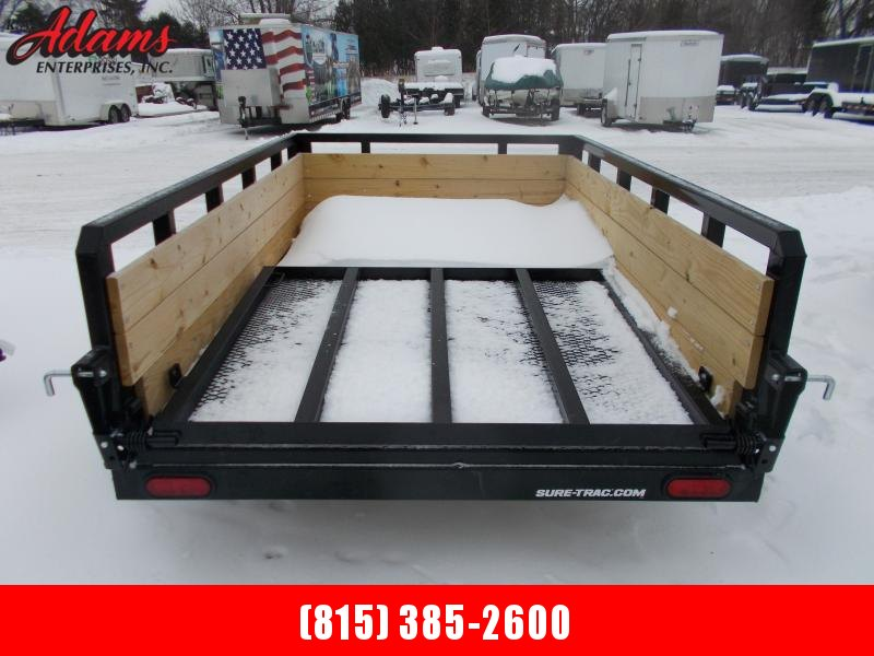 2019 Sure-Trac ST6208HST-B-030 Utility Trailer