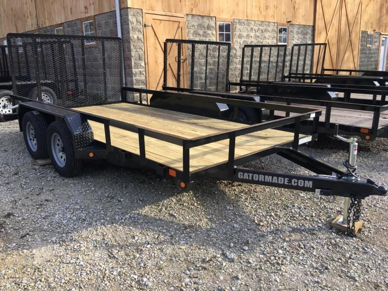 "2020 82"" x 14' GATOR MADE UTILITY / LANDSCAPE / ATV TRAILER"